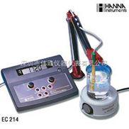 哈纳HANNA EC214 台式电导率仪
