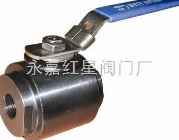 q11f-800lb-二片式锻钢球阀图片