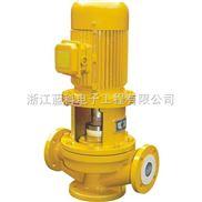GBF型衬氟管道离心泵/衬氟管道泵