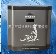 豪華5級瓷花銀灰純水機廚下機