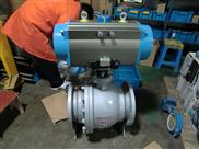 Q-河北塑料气动球阀DN65