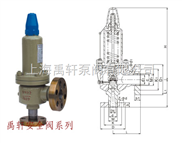 A41H-320C碳钢弹簧高压安全阀
