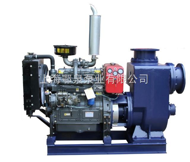 新型柴油机自吸泵-柴油机自吸泵组具有结构简单紧凑