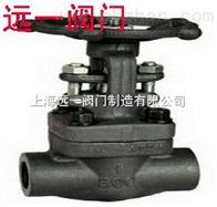 Z61W/H/Y-800LB承插焊锻钢闸阀
