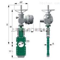 TCZ973H电动穿透式刀闸阀