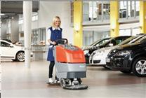 大连小型自动洗地机,哈高自动洗地机,大连手推式洗地机
