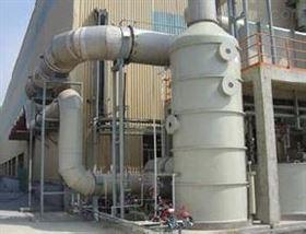 新型窑炉烟气钢制脱硫设备