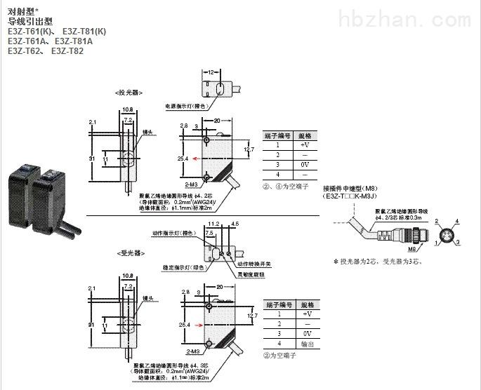 e3z-d61-光电开关-江西乐商控制系统有限公司济南分