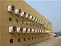 高温高空车间通风降温方案,天津养殖湿帘风机,大棚负压风机安装
