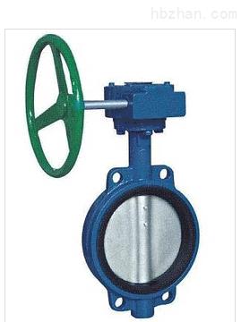 wbgx(d372x)-蜗轮传动对夹式软密封蝶阀良工球阀图片