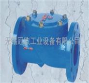 供应HC44X型橡胶瓣止回阀