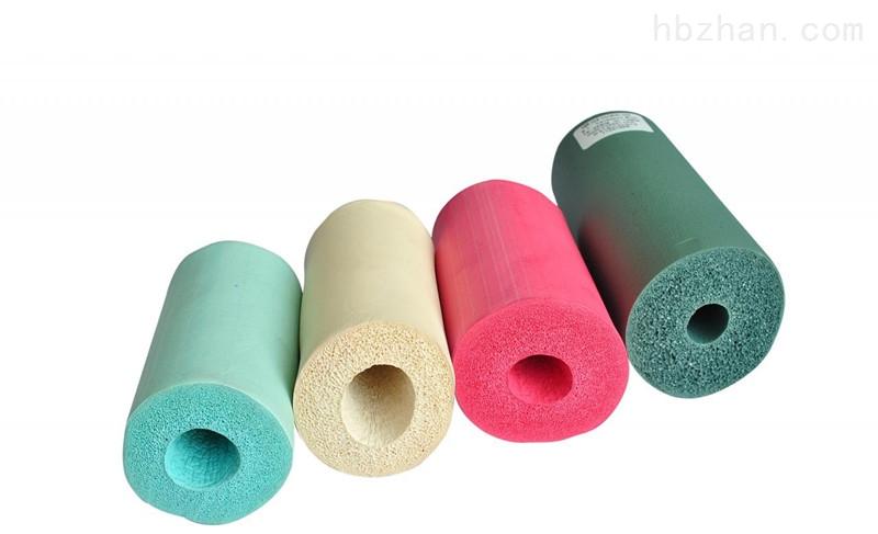 彩色橡塑保温管 外形美观 色彩多样