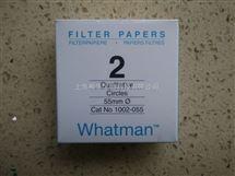 WHATMAN代理2号定性滤纸8um进口定性滤纸1002-055
