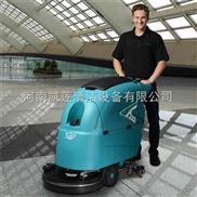 郑州小区地下车库油漆地面全自动洗地机