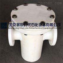 专业耐酸碱塑料耐腐蚀PP过滤器尺寸图