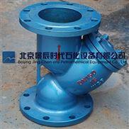 GL41H-16C铸铁法兰Y型过滤器污水过滤器自来水过滤器