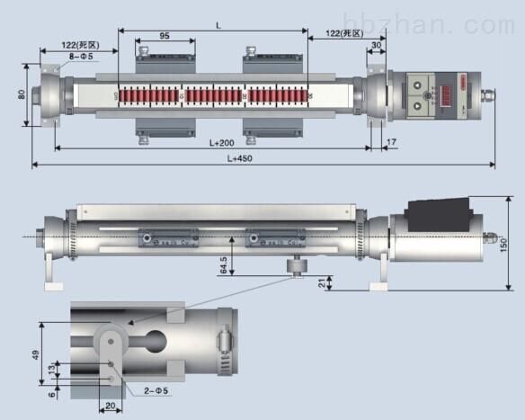 恒远磁钢磁耦合测量原理ZLB主令控制变送器资料