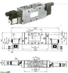 机组制动双向气动通断控制JMFH-5-1/2双电控电磁阀工作原理