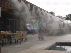 肇庆室外餐厅喷雾降温设备价格/降温效果好/夏天户外喷雾降温神器