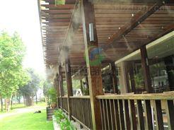德州室外餐厅喷雾降温设备价格/降温效果好/夏天户外喷雾降温神器