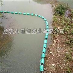河道取水口拦污浮带 带钢丝绳拦污索