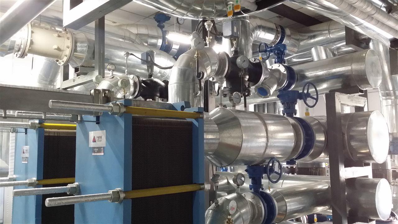 单位供热换热机组控制-应用案例
