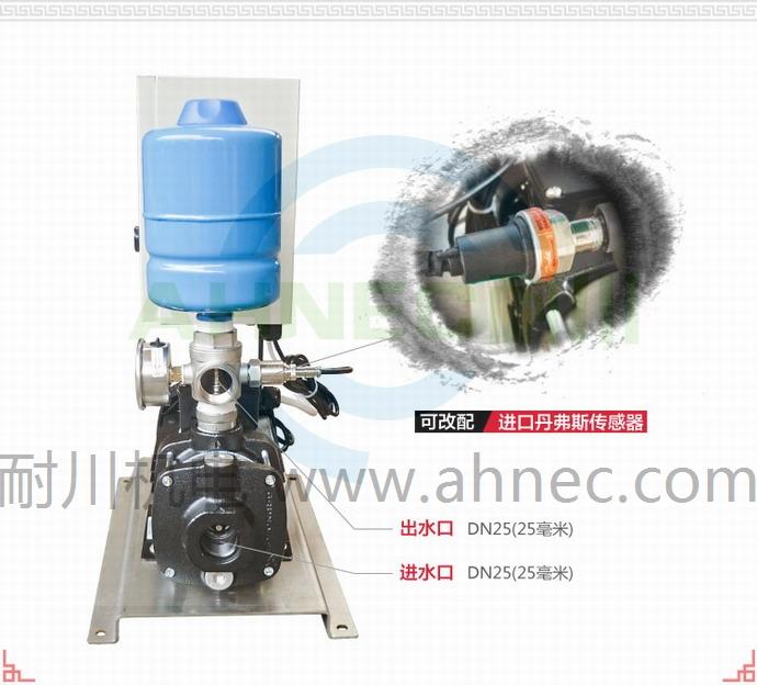 家用水塔增压泵旁通安装图